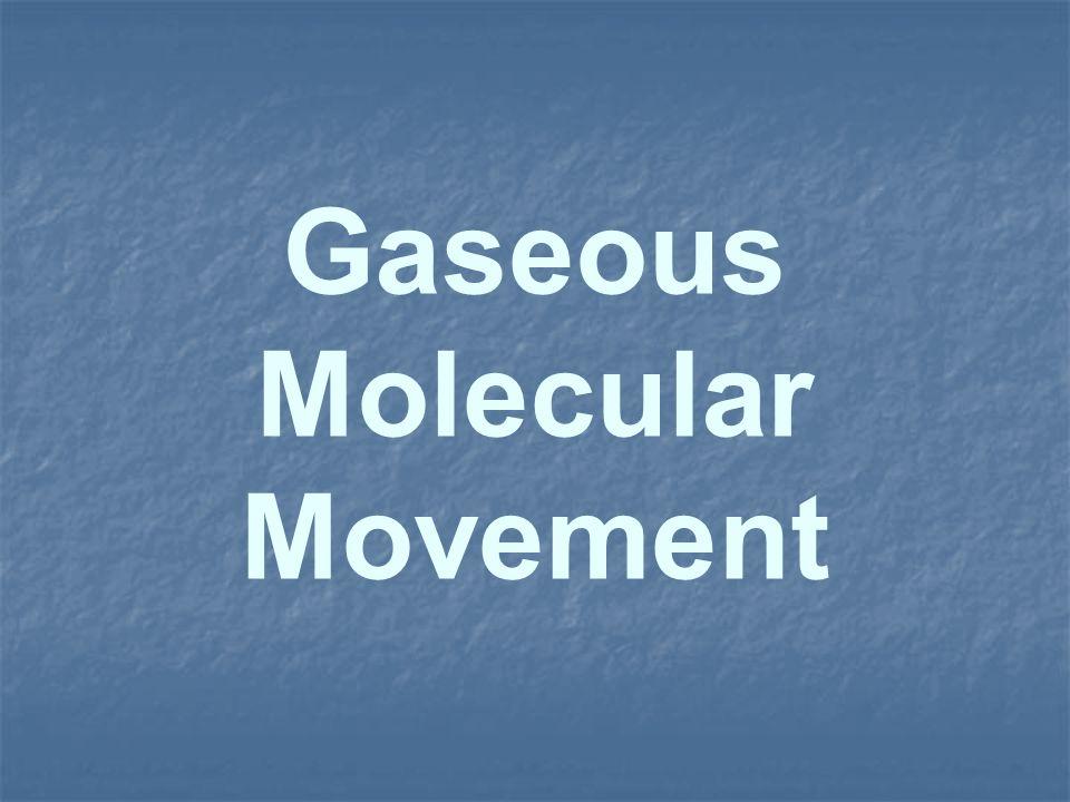 Gaseous Molecular Movement