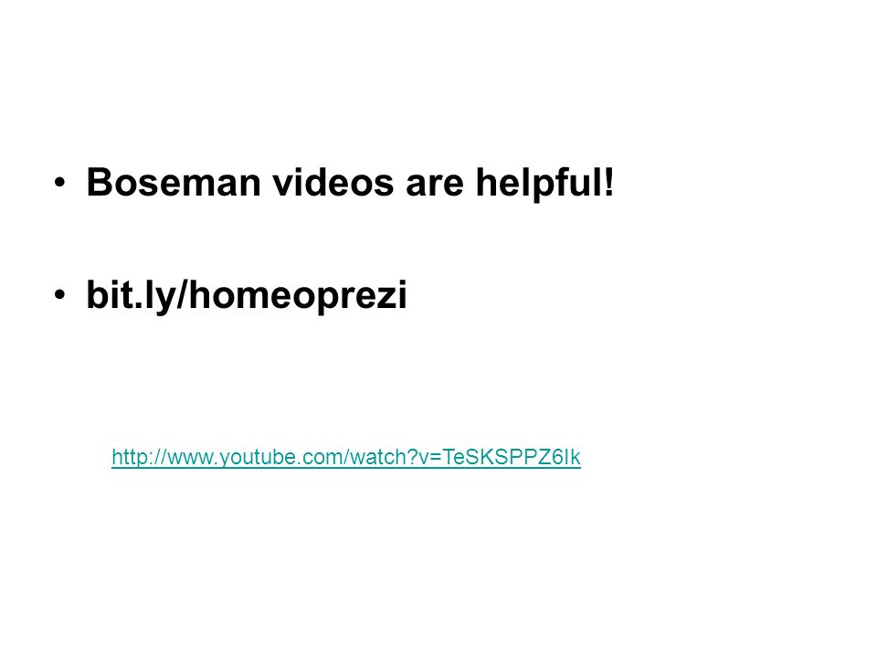 Boseman videos are helpful! bit.ly/homeoprezi http://www.youtube.com/watch?v=TeSKSPPZ6Ik