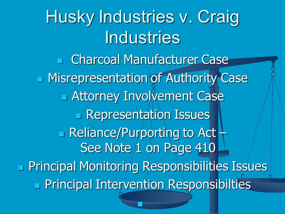 Husky Industries v.