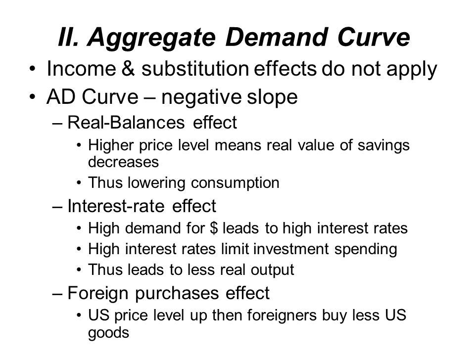 I. AD/AS Model To Analyze changes in real GDP & price level simultaneously Provides insights on inflation, unemployment, & economic growth Aggregate D