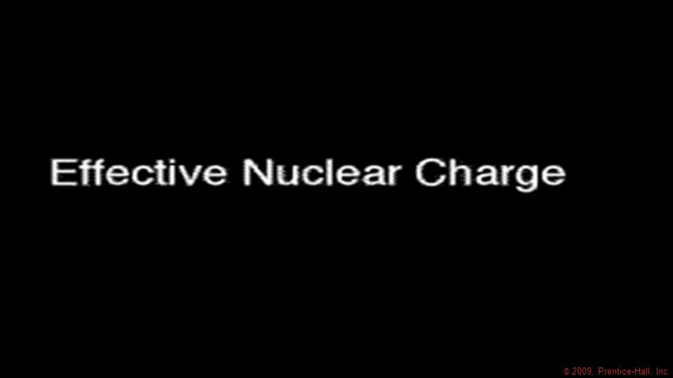 Effective Nuclear Charge In a many-electron atom, electrons are both attracted to the nucleus and repelled by other electrons.