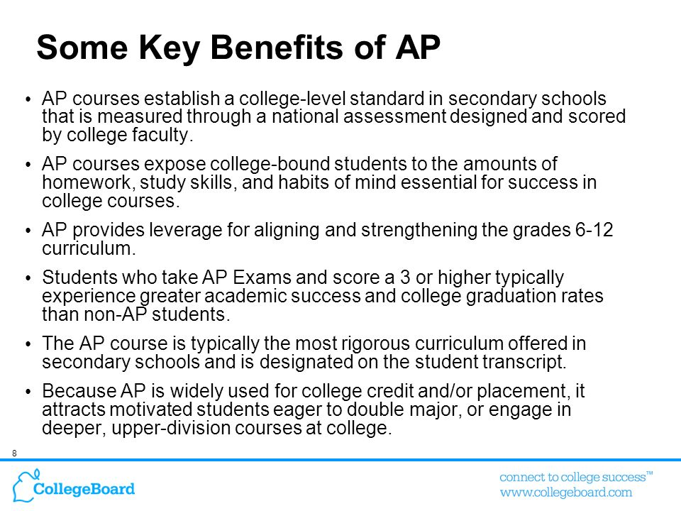 41% of Admissions Officers Anticipate an Increase in the Use of AP in Admissions in the Future Think about the use of AP in admissions decisions at your institution.