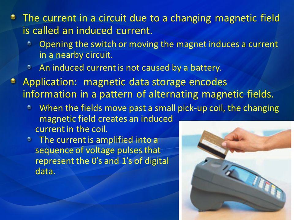 Φ B is the changing number of magnetic field lines passing through the area of the primary coil.