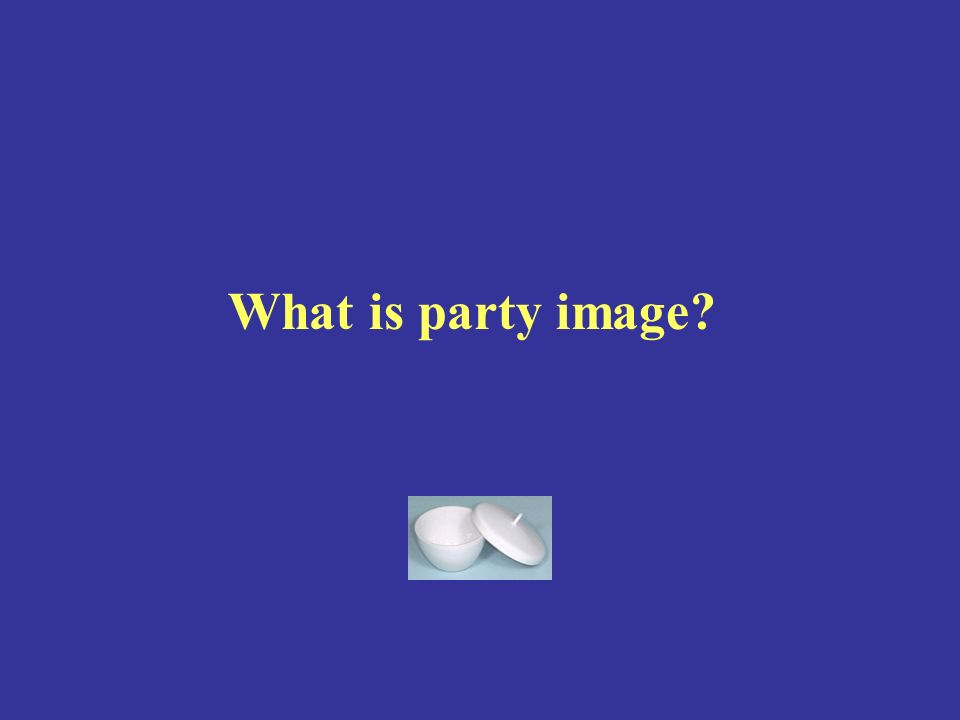 What is party image