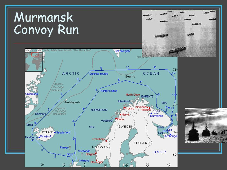 Murmansk Convoy Run