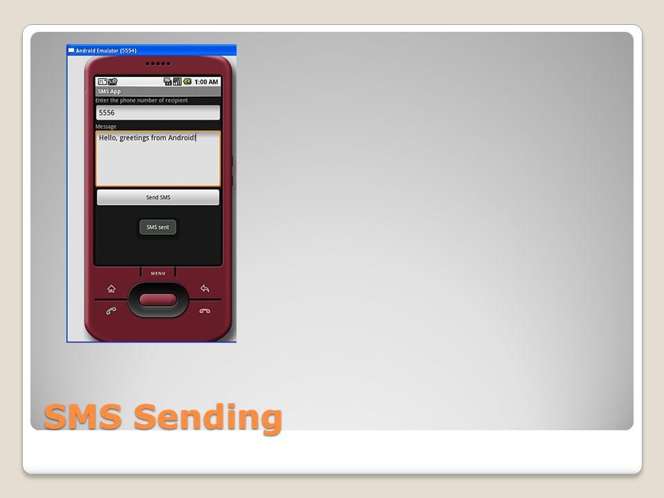 SMS Sending