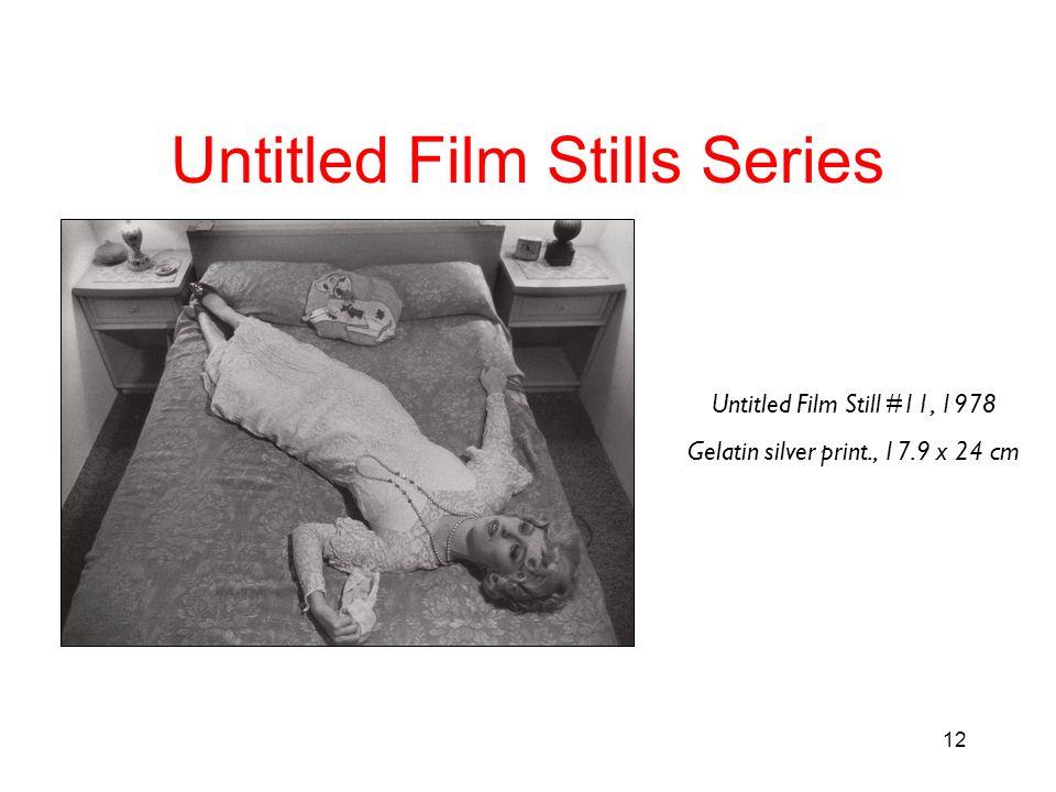 12 Untitled Film Stills Series Untitled Film Still #11, 1978 Gelatin silver print., 17.9 x 24 cm
