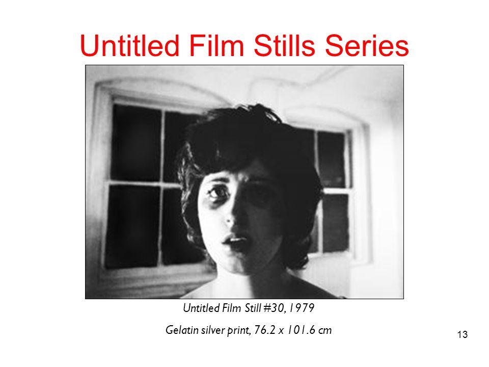 13 Untitled Film Stills Series Untitled Film Still #30, 1979 Gelatin silver print, 76.2 x 101.6 cm