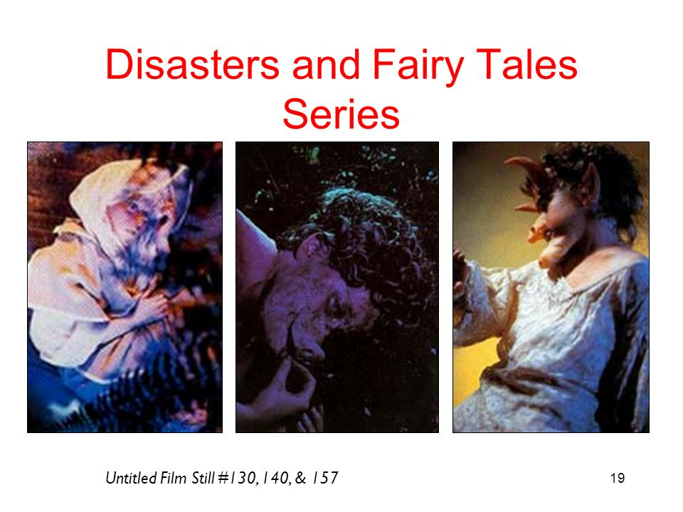 19 Disasters and Fairy Tales Series Untitled Film Still #130, 140, & 157