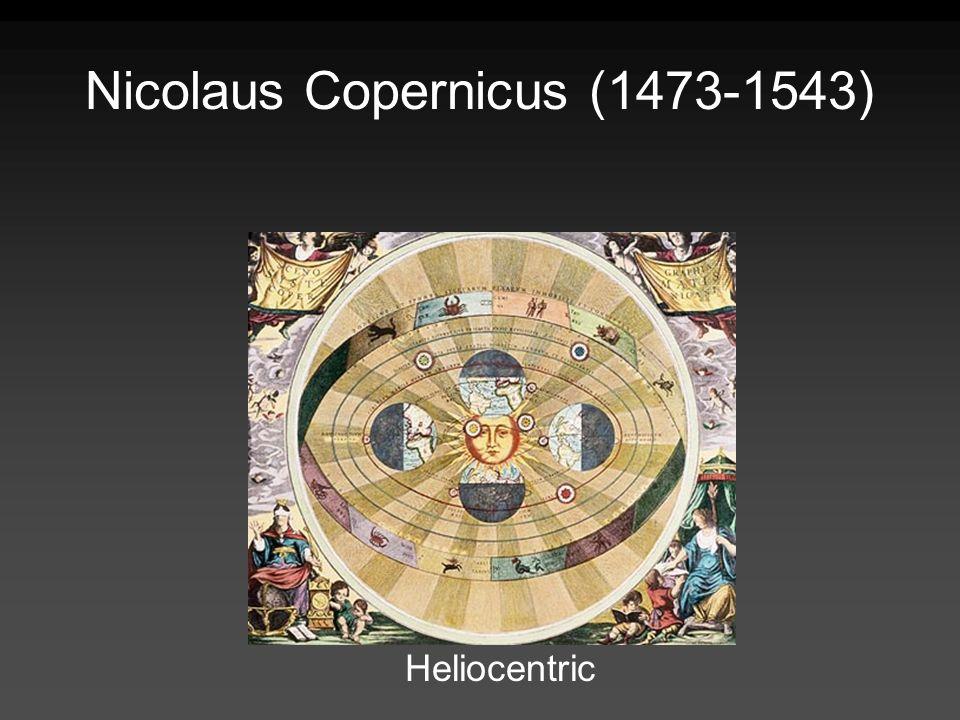 Nicolaus Copernicus (1473-1543) Heliocentric