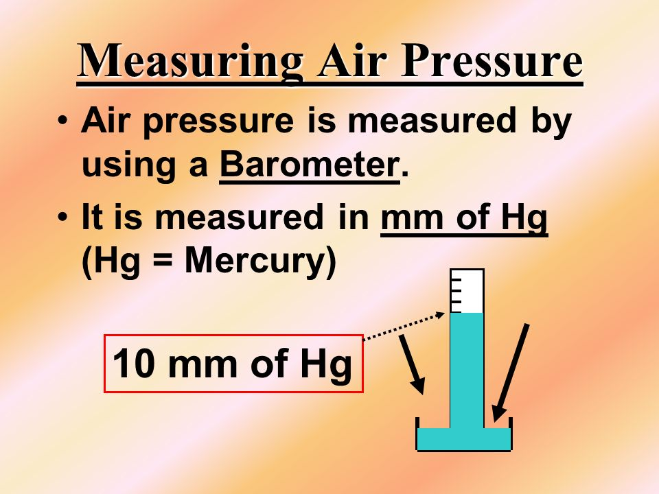 In order to make any liquid boil... The Air pressure must equal the Vapor pressure.