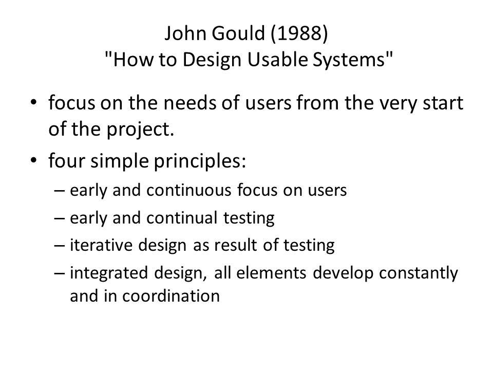 John Gould (1988)