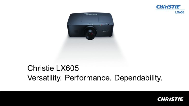 Key specifications 6000 ANSI lumens Native XGA (1024x768) 1000:1 contrast ratio (full on /full off) New 3D Keystone and H/V digital keystone One button lens release for easy lens exchange Expandable advanced network slot Latest in inorganic 3LCD 10-bit image processing Built-in network port Integrated security bar Top lamp access Up to 13,000 hour AutoFilter cartridge for hassle free maintenance