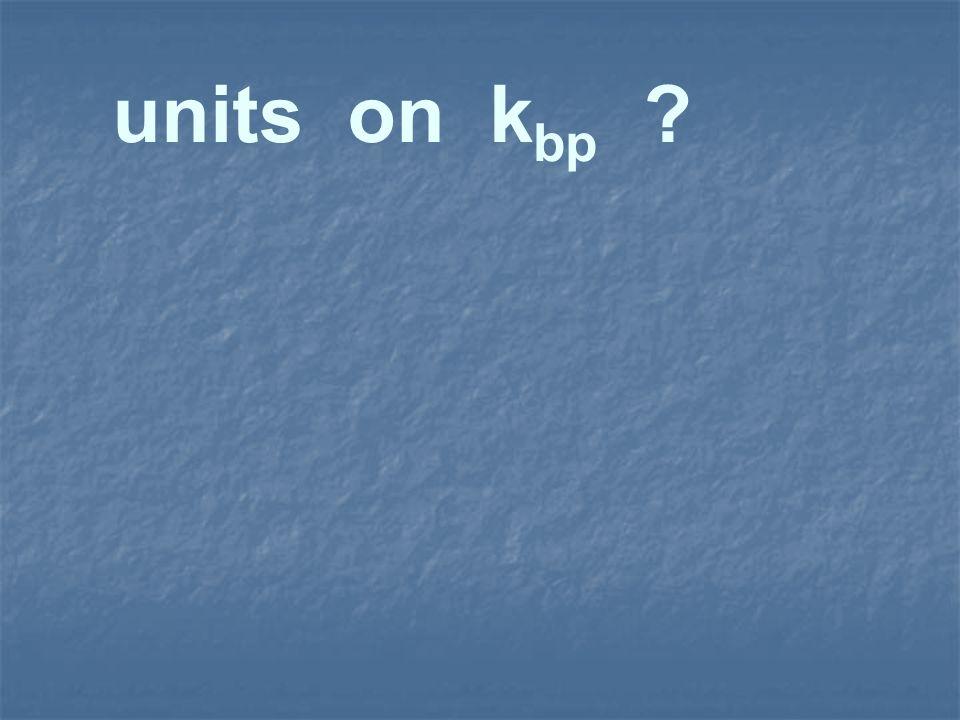 units on k bp