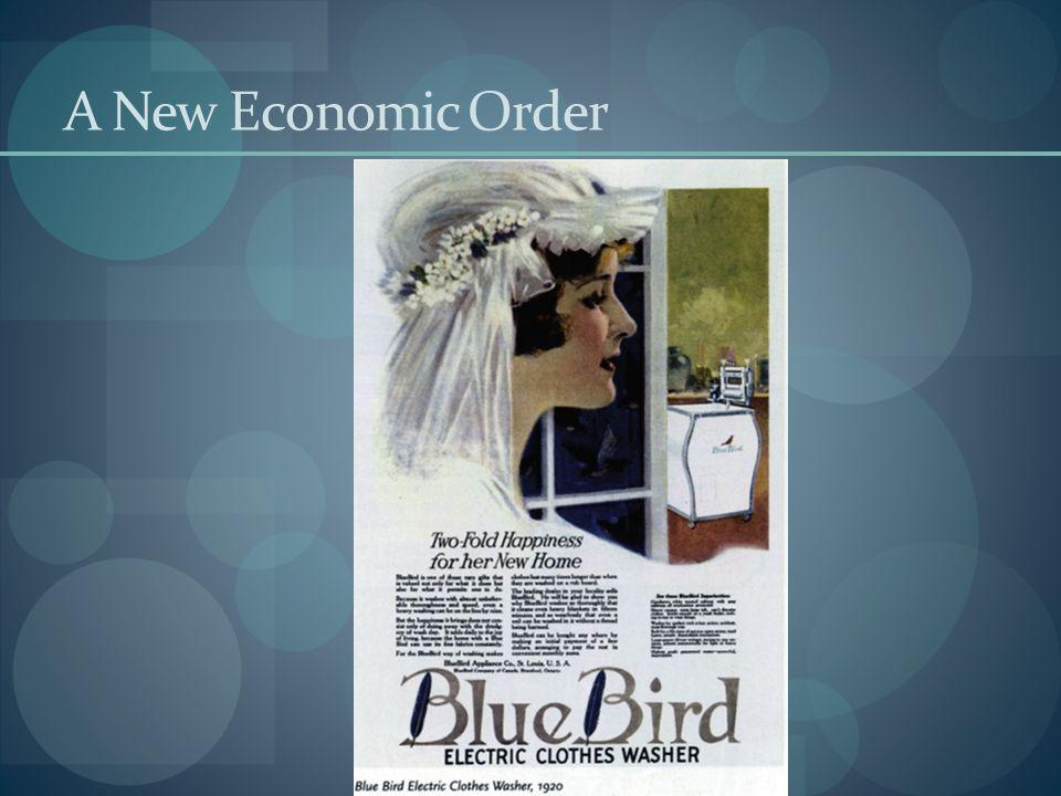 A New Economic Order