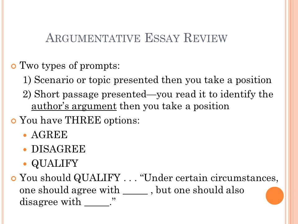 Rhetorical Essay Topics