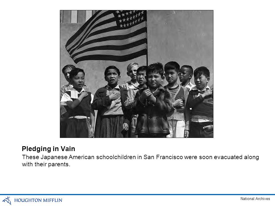 Japanese American Evacuees, 1942 After the U.S.