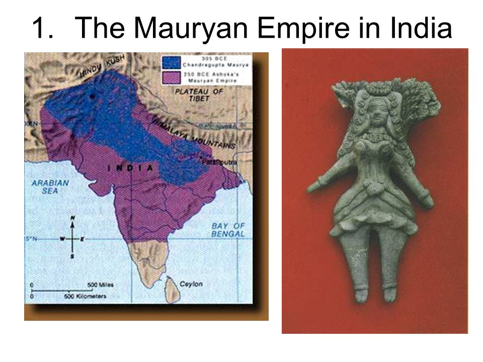 1.The Mauryan Empire in India