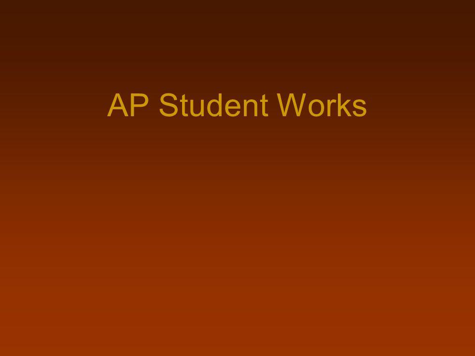 AP Student Works