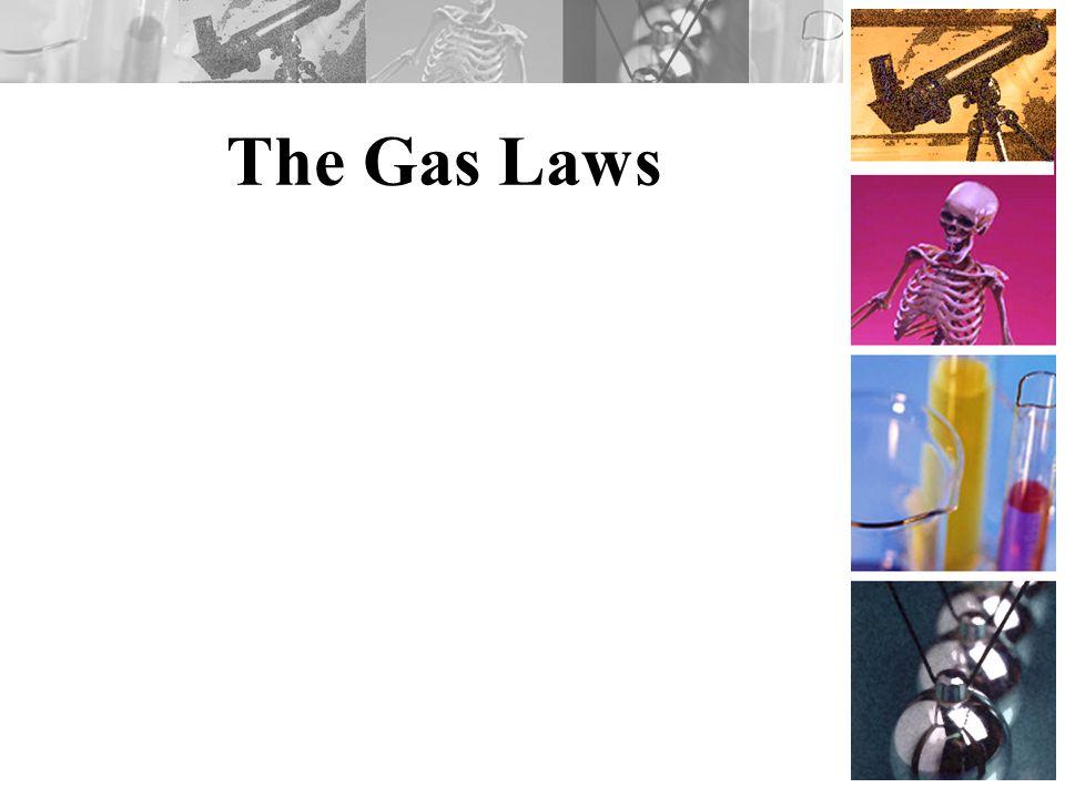 Pressure Force per unit area.Gas molecules fill container.