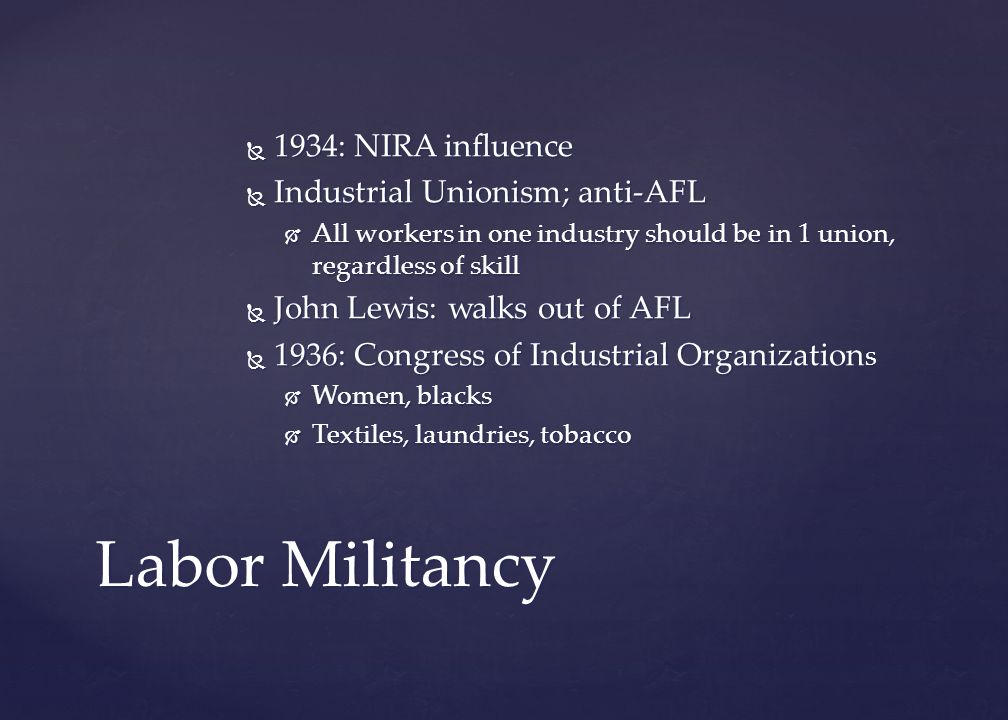 Reaffirmed labor's right to unionize, prohibited unfair labor practices, and created the National Labor Relations Board. alphabet REFORM: Prevent Anot
