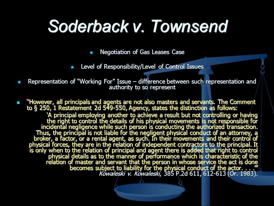 Soderback v.