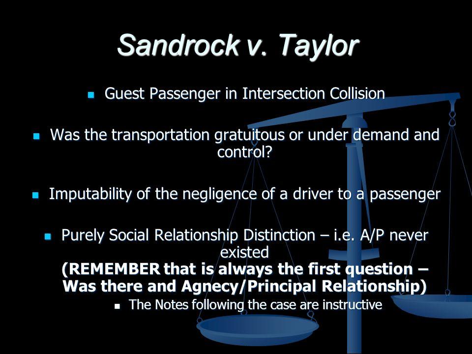 Sandrock v.