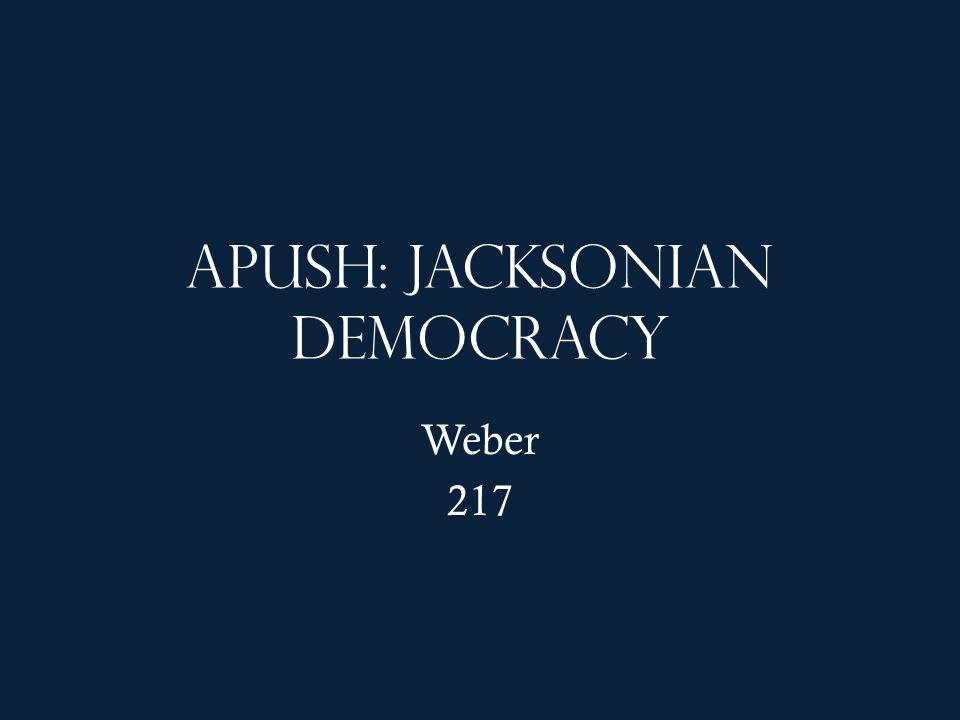 jacksonian democrats essay