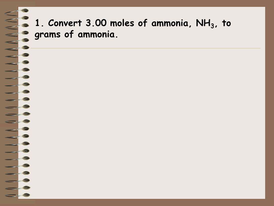 The Mole (Quantities) 1 mole = atoms molecules formula units Molar mass Molar mass (periodic table) 22.4 L for a gas @STP 6.02 x 10 23 (elements) (non