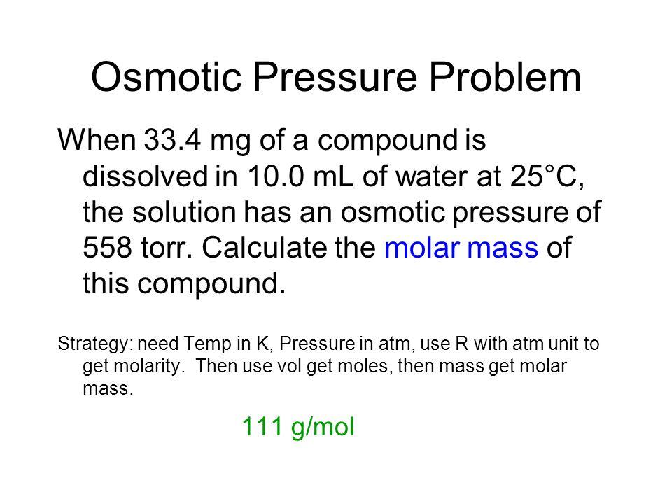 Osmotic Pressure graphic