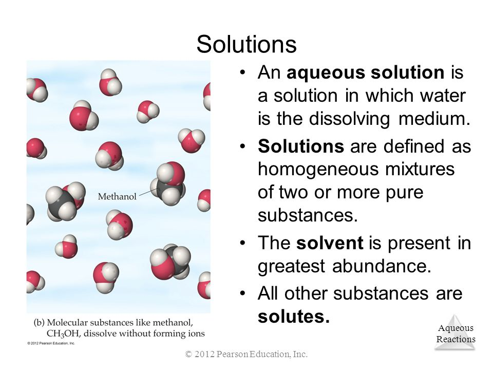 Aqueous Reactions Metathesis Reactions Steps to complete and balance these reactions: –Use the chemical formulas to determine which ions are present.