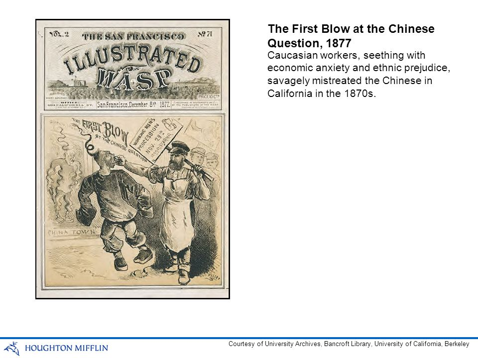By 1890, more than 100,000 Chinese immigrants lived in the continental United States.