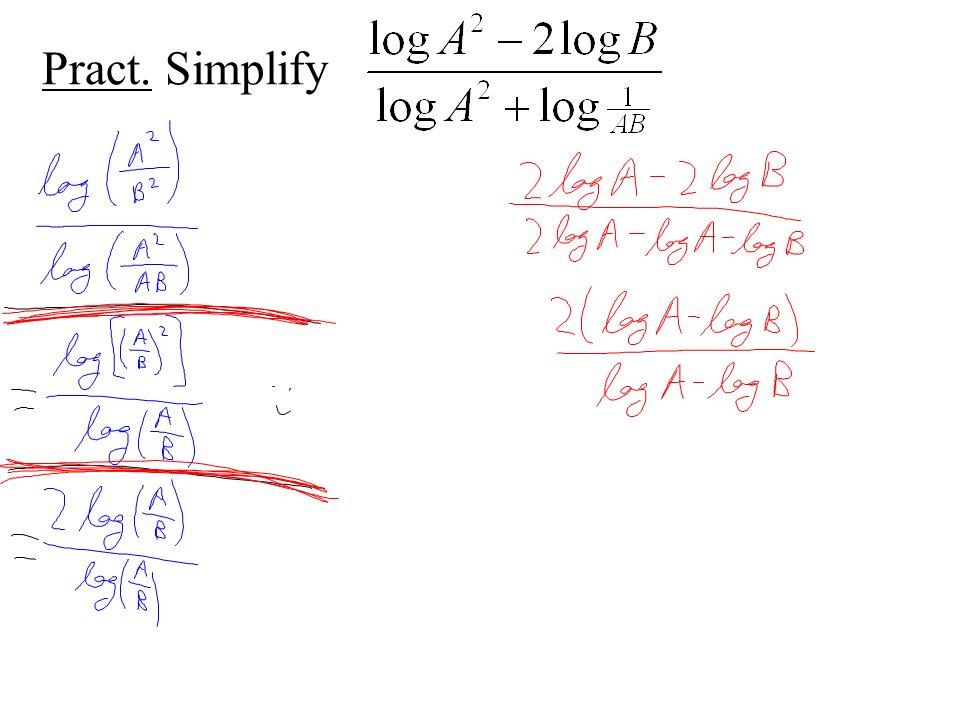 Pract. Simplify