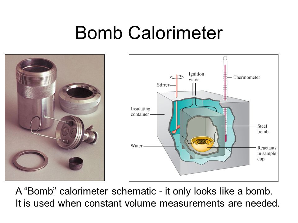 Calorimeter Simple styrofoam cup calorimeter is easily used for lab measurements and constant pressure measurements.