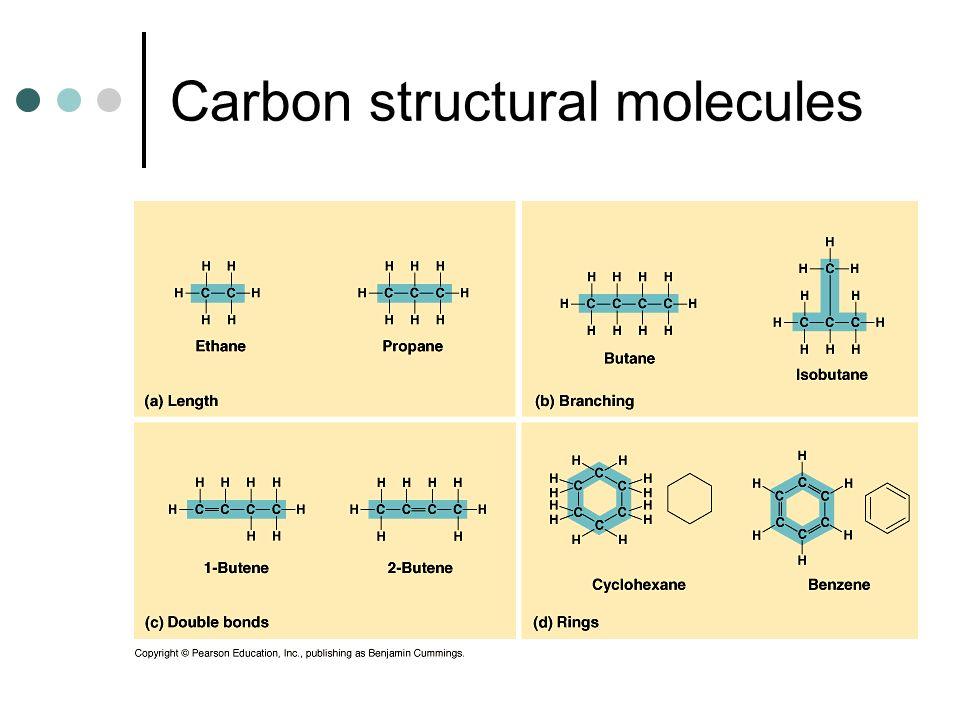 Carbon structural molecules