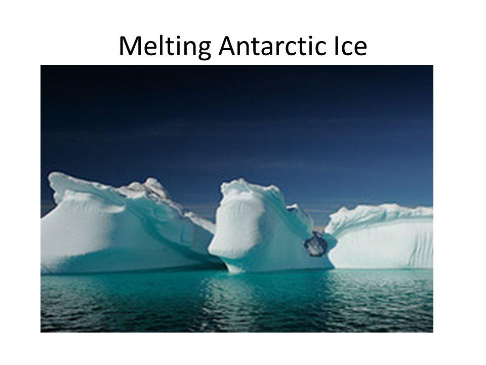 Melting Antarctic Ice