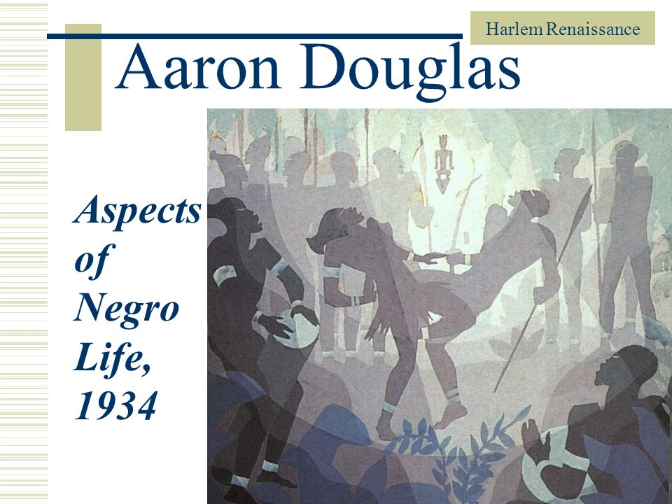 Harlem Renaissance 37 Aaron Douglas Aspects of Negro Life, 1934