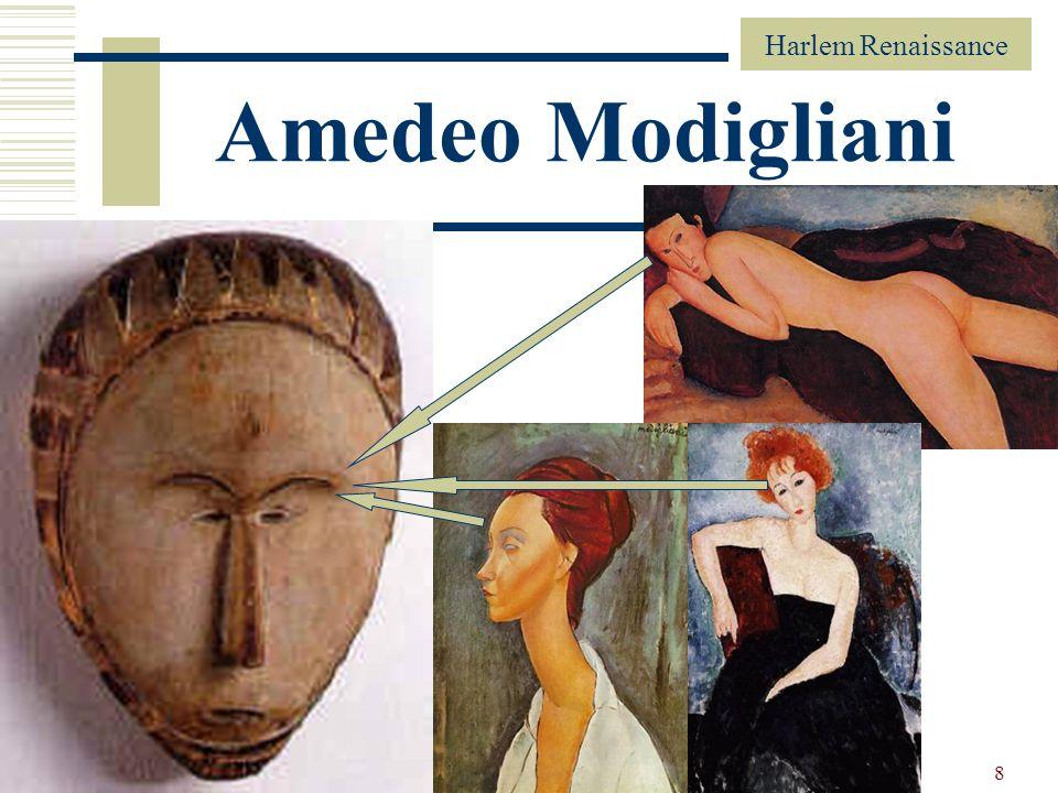 Harlem Renaissance 8 Amedeo Modigliani