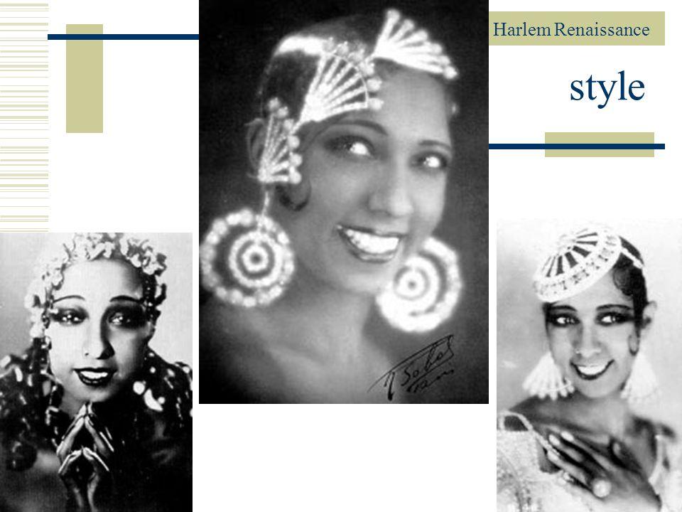 Harlem Renaissance 85 style