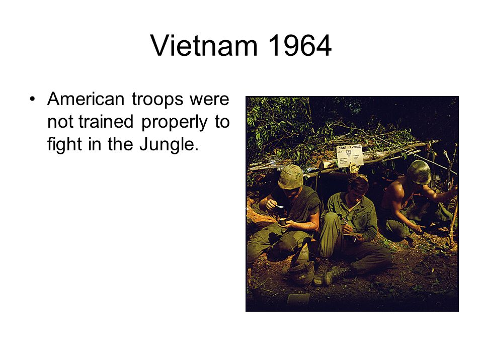 Vietnam 1964-Gulf of Tonkin bombing President Johnson increases troop levels