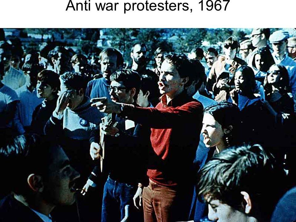 University of California, Berkeley students during free speech sit in, 1964