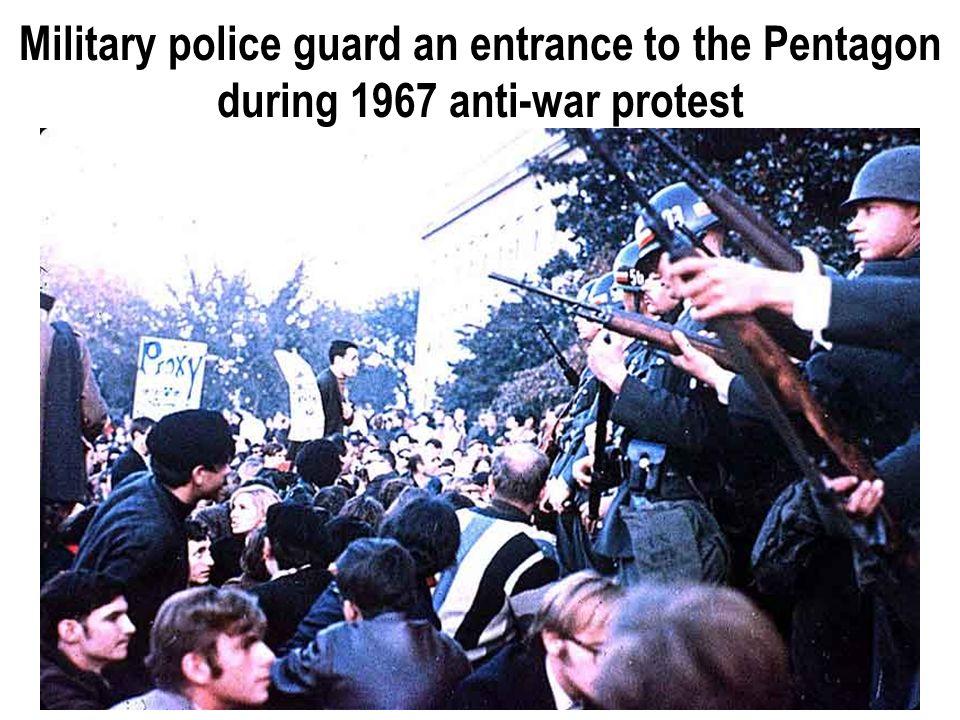 Anti war protesters, 1967