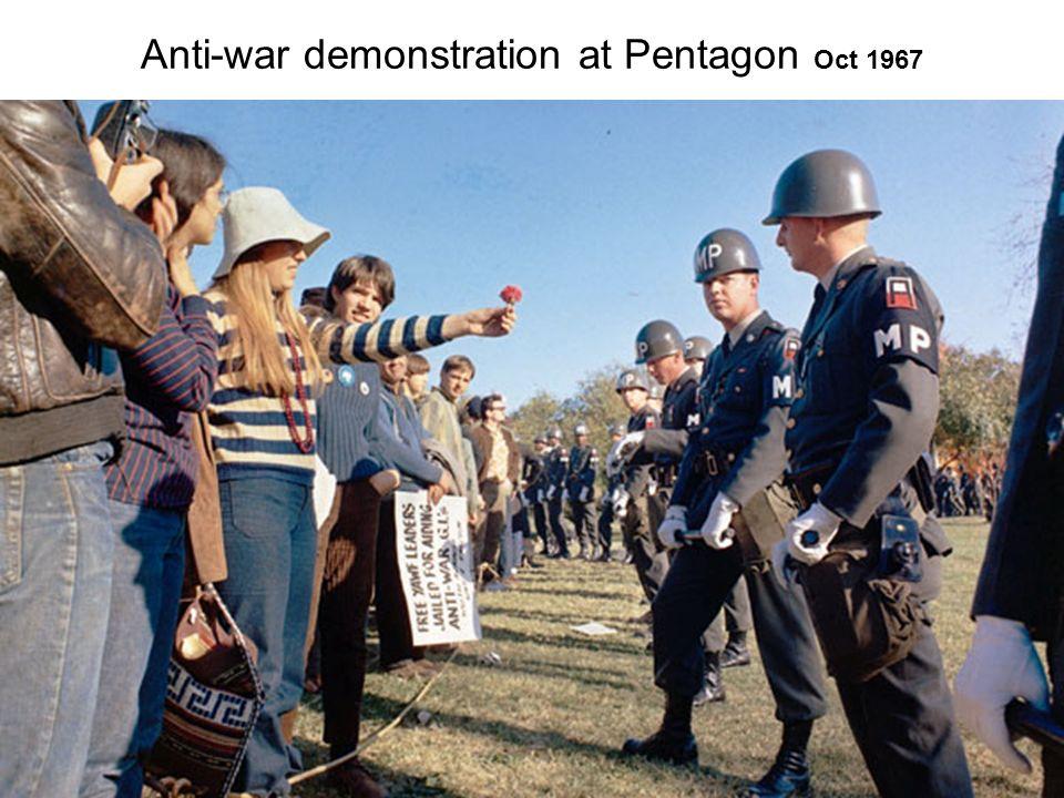 Antiwar Demonstrators Burn Draft Cards on the Steps of the Pentagon, May 22, 1972