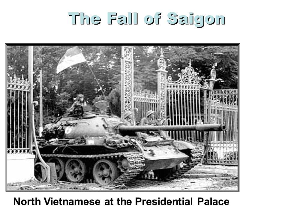 The Fall of Saigon America Abandons Its Embassy April 30, 1975