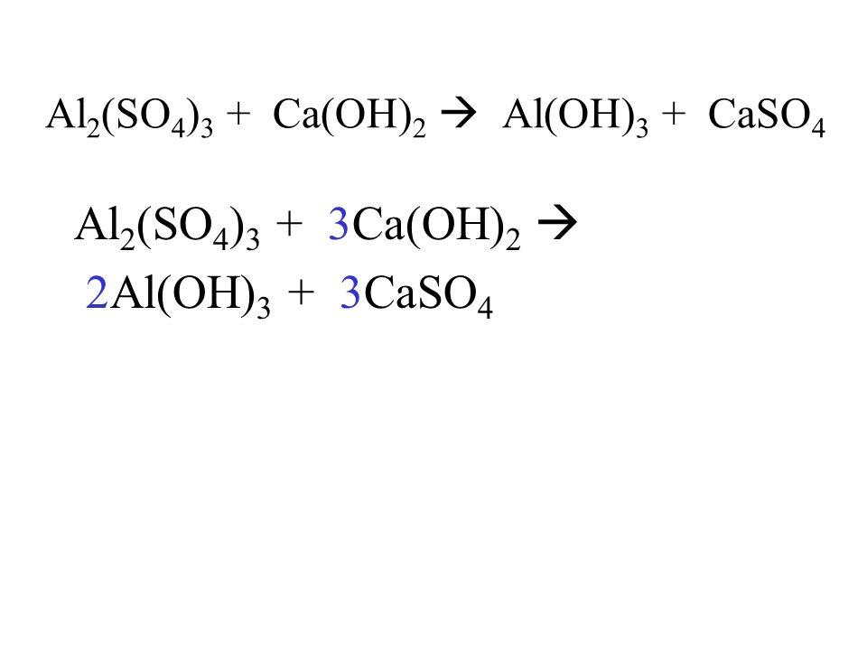 6. calcium + hydrochloric acid Ca(s) + 2HCl(aq) CaCl 2 (aq) + H 2 (g)