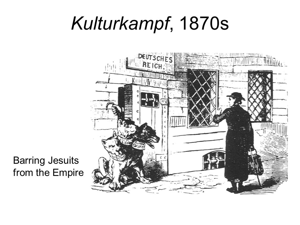 Kulturkampf, 1870s Barring Jesuits from the Empire