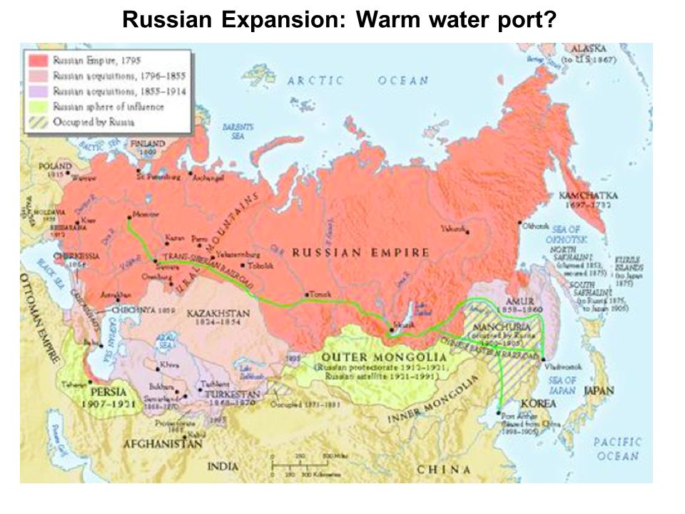 Russian Expansion: Warm water port?