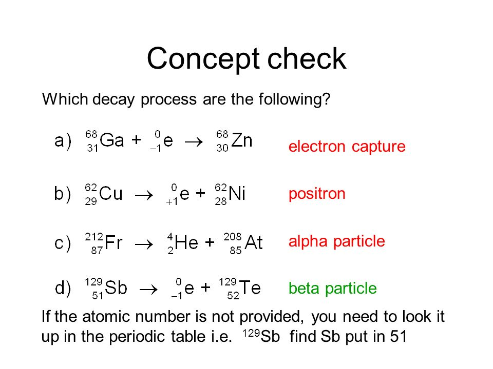 Decay Processes Decay Series (Series of Alpha and Beta Decays)