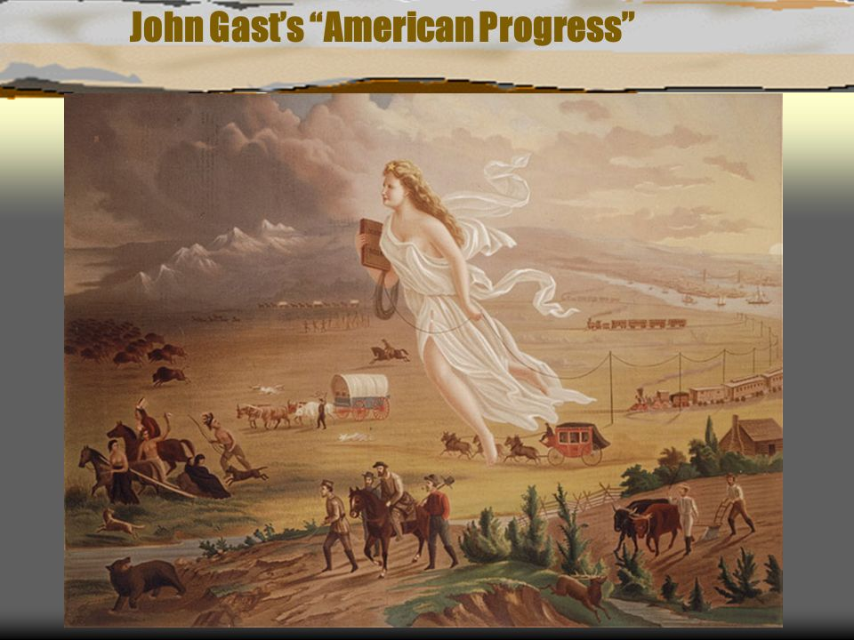 John Gasts American Progress