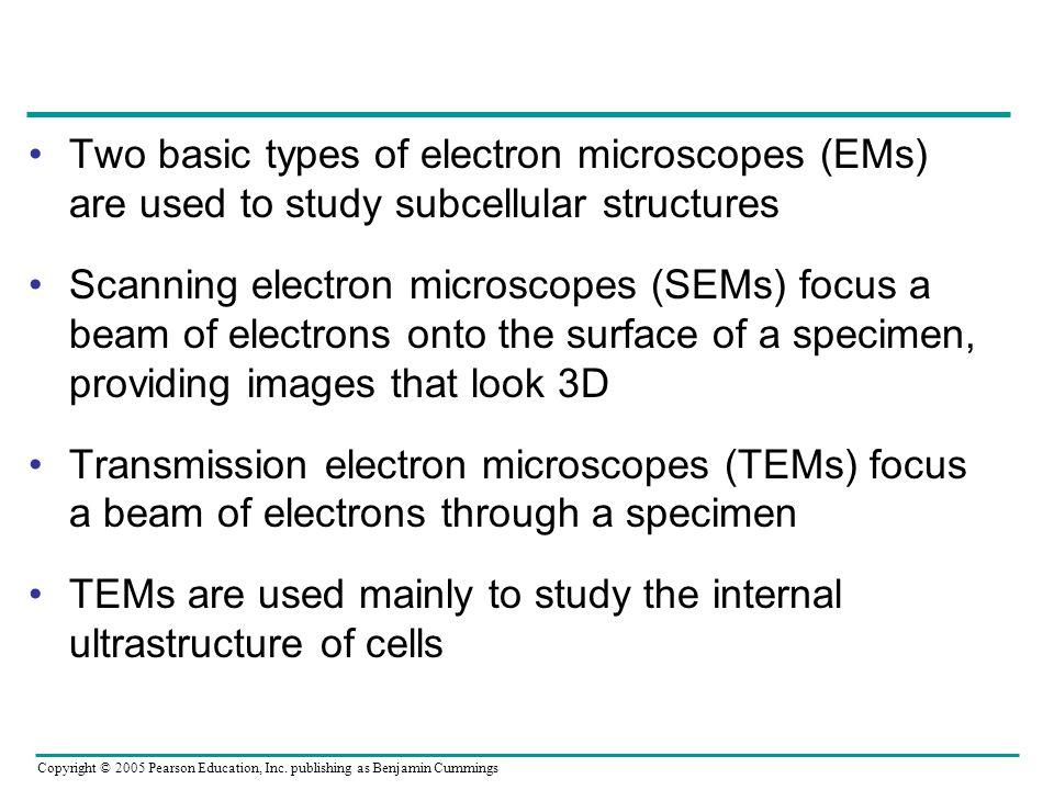 LE 6-4 1 µm Scanning electron microscopy (SEM) Cilia Longitudinal section of cilium Transmission electron microscopy (TEM) Cross section of cilium